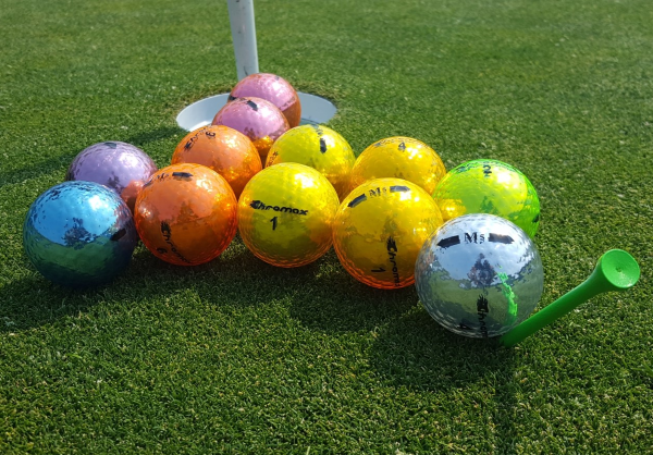 Chromax M5 Colored Golf Balls