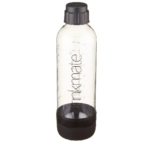 Included Reusable 1L BPA-Free Quick-Connect Carbonating Bottle