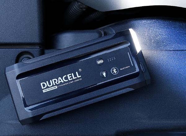 Duracell Bluetooth Lithium-Ion Jump Starter 1100