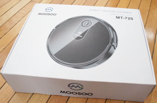 MOOSOO MT-720 Robot Vacuum Cleaner
