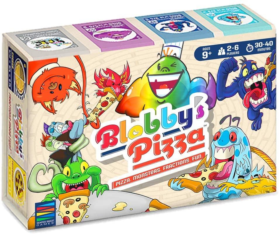 Blobby's Pizza Math Card Game