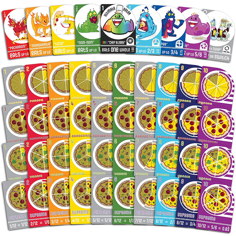 Blobby's Pizza - The Game's Main Cards
