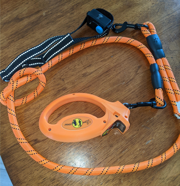 The Leash, together with its Dog Leash Handle and Collar