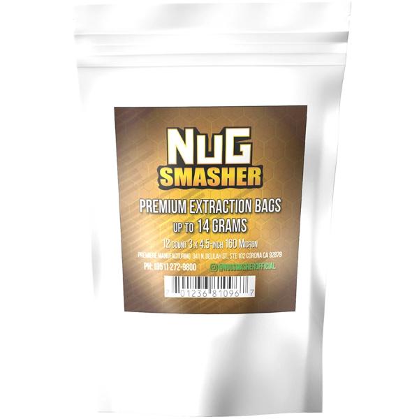 NugSmasher 14 Gram Extraction Rosin Filter Bags