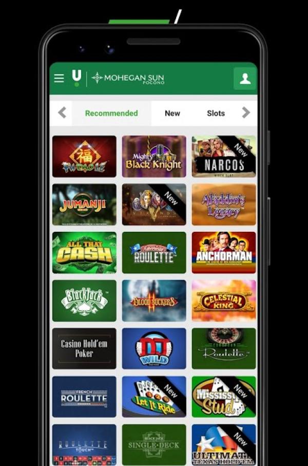 Mange forskellige casinospil er tilgængelige at spille på