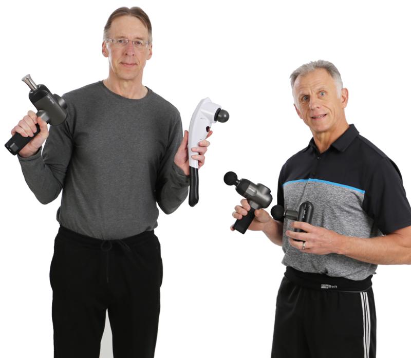 Bob & Brad - From the Bob and Brad Brand of Percussion Massager Guns
