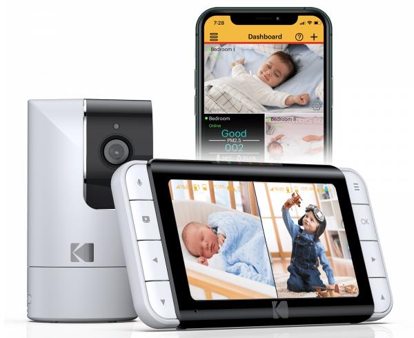 Kodak Cherish C525 Video Baby Monitor - System Components