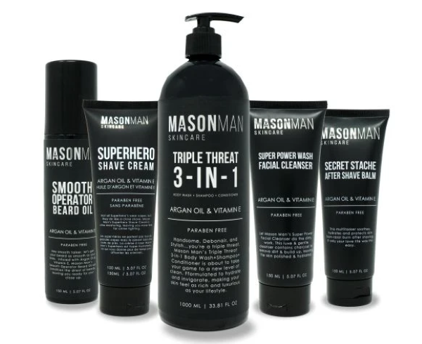 Mason Man Skincare - High-Quality Skincare Products for Men