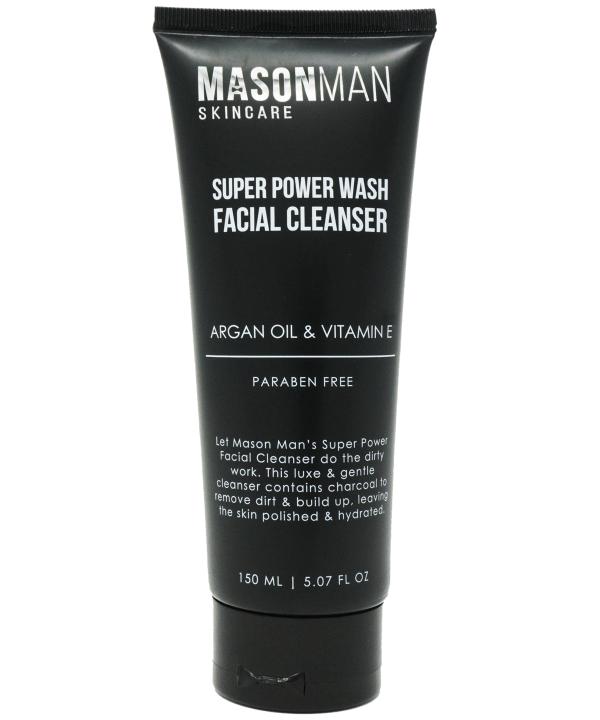 Mason Man's Super Power Wash Facial Cleanser