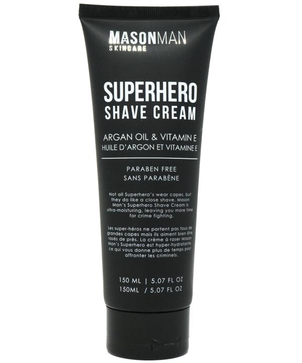 Mason Man's Superhero Shave Cream