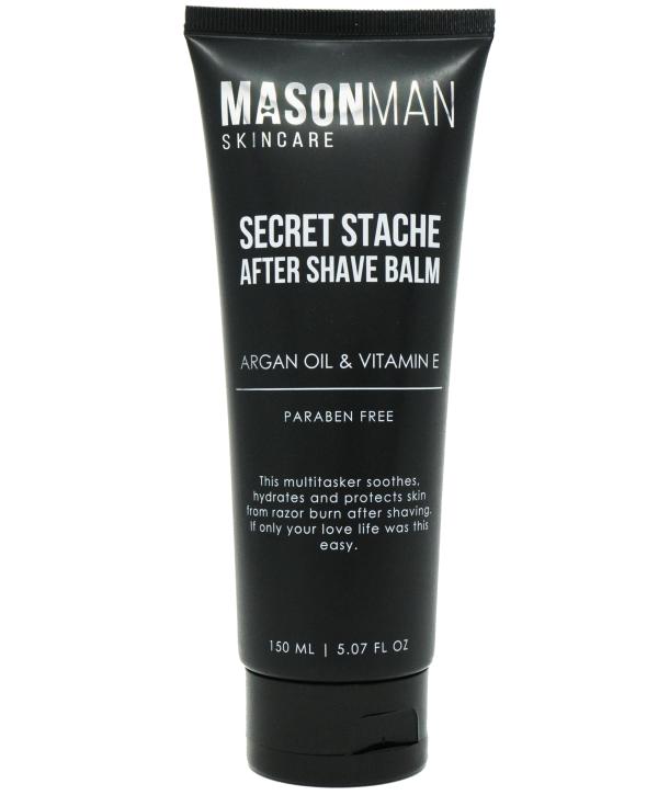 Mason Man's Secret Stache After Shave Balm