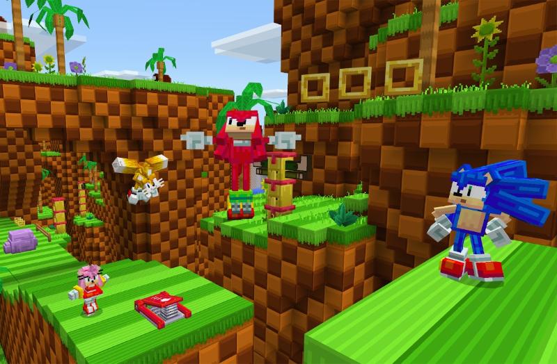 Minecraft Sonic the Hedgehog DLC