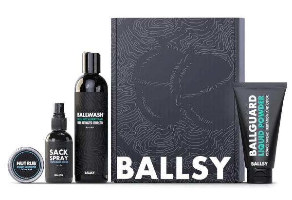Ballsy Sack Pack with Ballguard Ball Deodorant