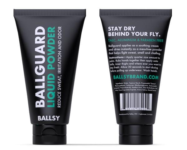 Ballsy Ballguard Ball Deodorant