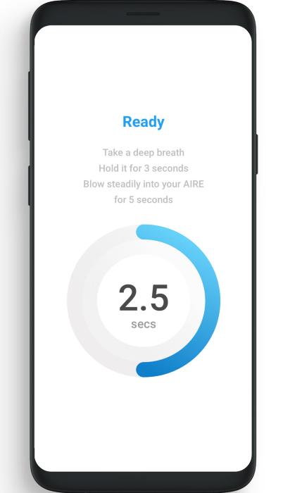 FoodMarble App - Perform easy Hydrogen Breath Tests