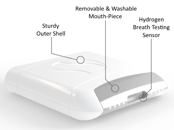 FoodMarble Aire Digestive Breath Tester - Construction