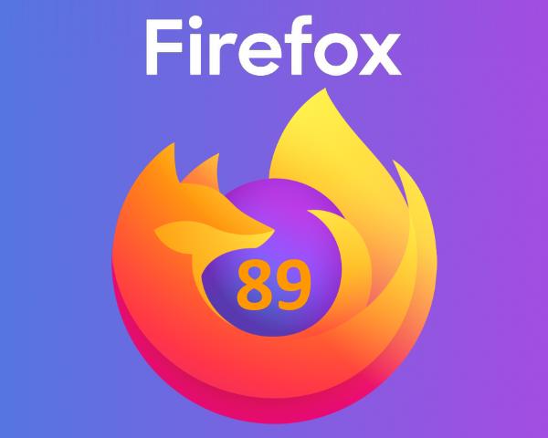 Mozilla Firefox 89.0