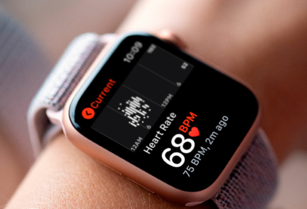 Smartwatch with Heart Rate Monitor