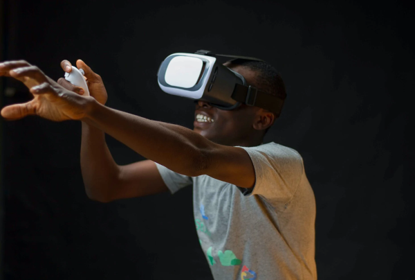 VR is a very Immersive Experience - Image Source: Pexels (Link Embedded)