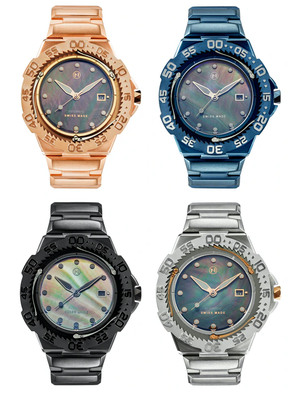 Nove Trident Automatic - Available in 4 different color-models