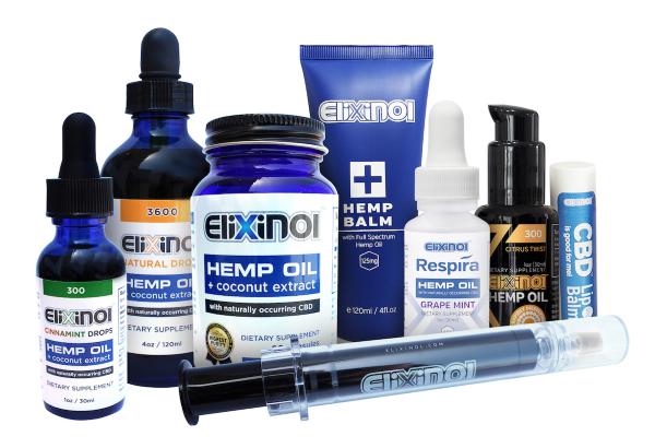 Elixinol Products