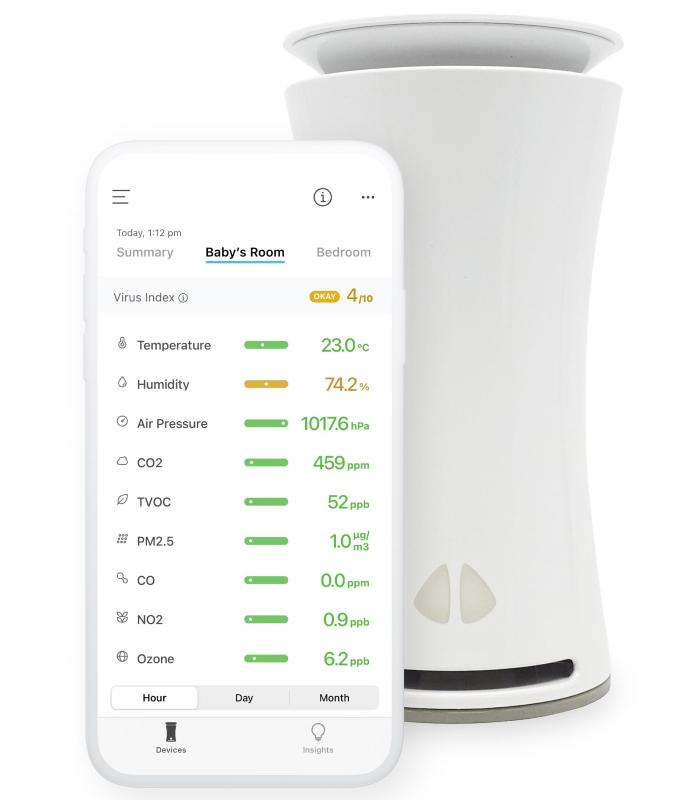 uHoo Air Quality Monitor
