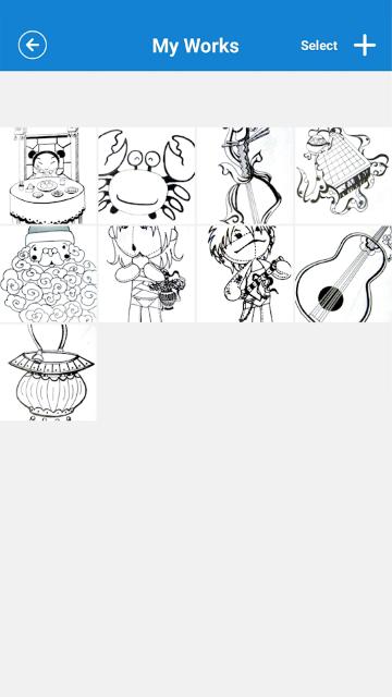 myFirst Sketch Book App