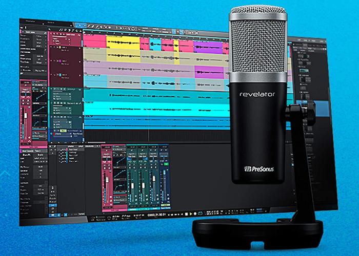 PreSonus Studio One Artist recording and production software