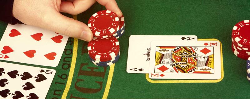 Blackjack Double Example