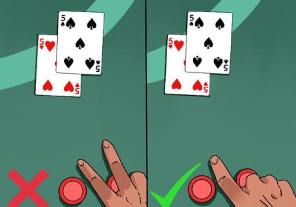 Blackjack Split Example