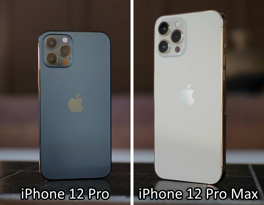 iPhone 12 Pro and Pro Max (Size Comparison)