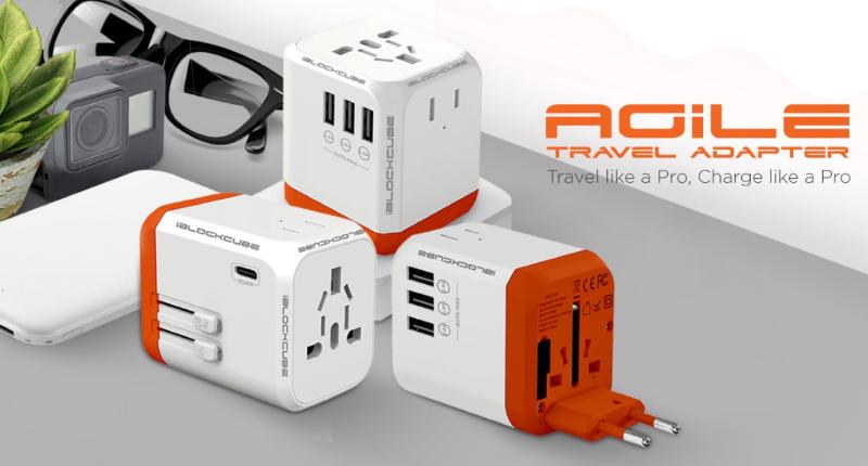 Agile Universal Travel Adapter