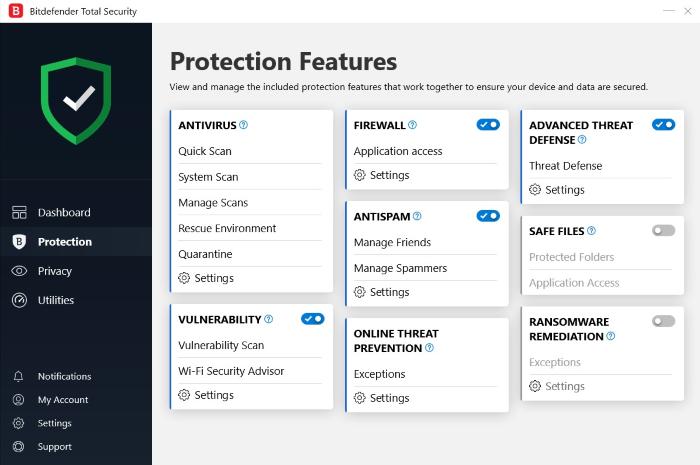 Bitdefender Antivirus for Windows